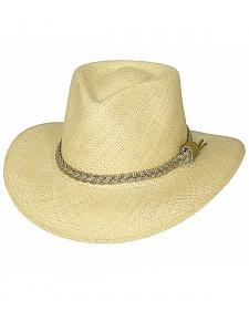 Bullhide Cape Coral Panama Straw Cowgirl Hat