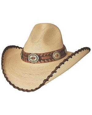 Bullhide Golden Dawn Bangora Straw Cowgirl Hat