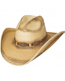 Bullhide Moonlight 20X Palm Leaf Straw Cowgirl Hat