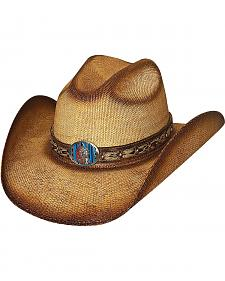 Bullhide Red Cloud Bangora Straw Cowgirl Hat
