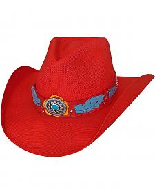 Bullhide Wild One Bangora Straw Cowgirl Hat