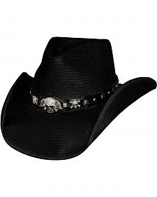 Bullhide Bad Girl Shantung Straw Cowgirl Hat