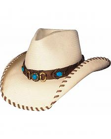 Bullhide Best of the West Shantung Straw Cowgirl Hat