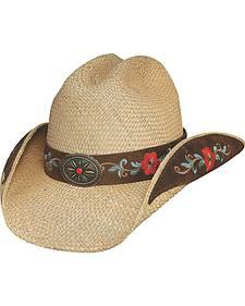 Bullhide Santa Rosa Straw Cowgirl Hat
