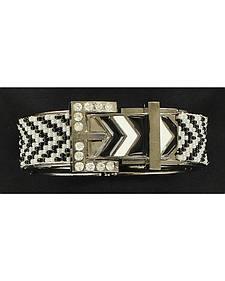 Blazin Roxx Chevron Buckle Bracelet
