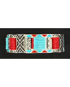 Blazin Roxx Double Strand Tribal Bracelet