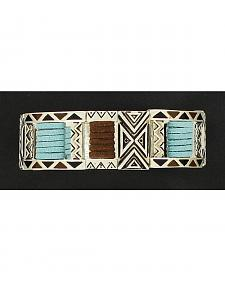 Blazin Roxx Double Stretch Tribal Bracelet