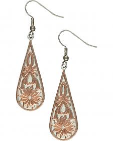 Montana Silversmiths Bitteroot Drop Earrings