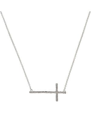 Montana Silversmiths Bling Cross Necklace