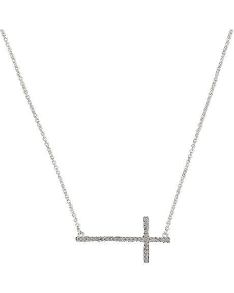 Montana Silversmiths Bling Cross Necklace