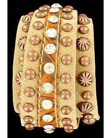 Blazin Roxx Women's Stylish Wrap Bracelet