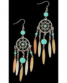 Blazin Roxx Dream Catcher Earrings