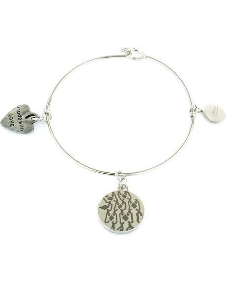 Latte Silver Bangle Bracelets
