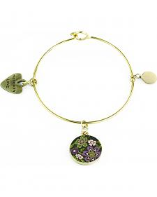 Jilzarah Prairie Gold Bangle