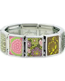 Jilzarah Prairie Square Stretch Bracelet