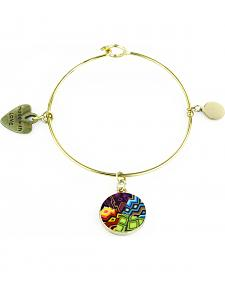 Jilzarah Santa Fe Gold Bangle