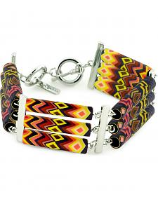 Jilzarah Sunset Tri-Tube Bracelet