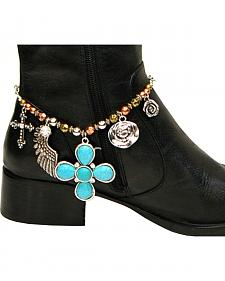 Isac West Women's Western Charm Boot Chain