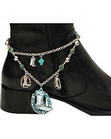 Isac West Women's Western Boot Chain