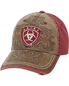 Ariat Women's Scroll Design Ballcap