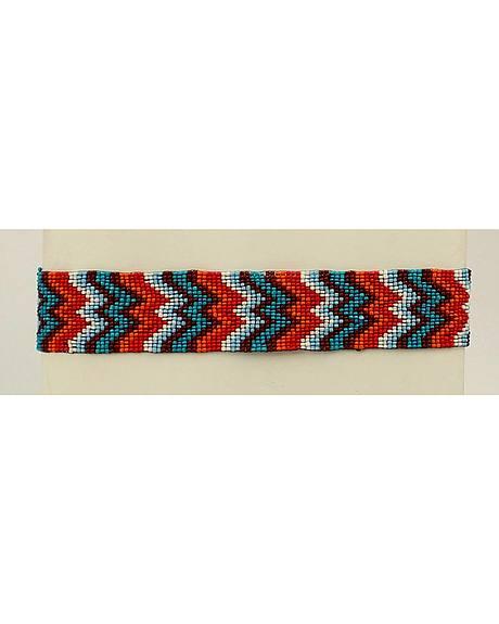 Blazin Roxx Chevron Beaded Headband