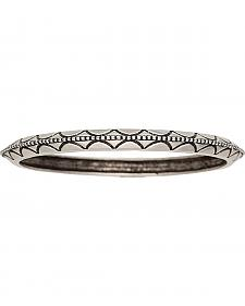 Wrangler Rock 47 Pins & Needles Etched Bangle