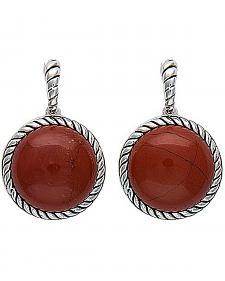 Montana Silversmiths Canyon Colors Redstone Drops Earrings