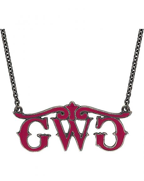 Girls With Guns Logo Necklace