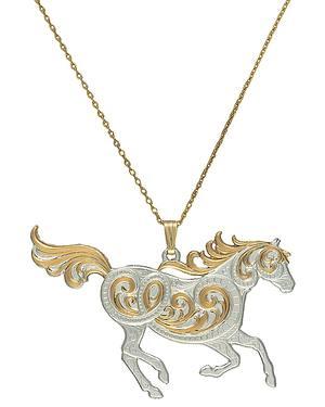 Montana Silversmiths Run Free Pendant Necklace