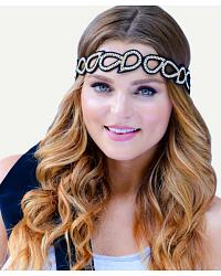 Pink Pewter Headbands