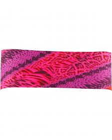 Pink Pewter Animal Stretch Sports Wrap