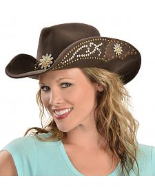 Bullhide Hats Women's Your Everything Embellished Felt Cowgirl Hat