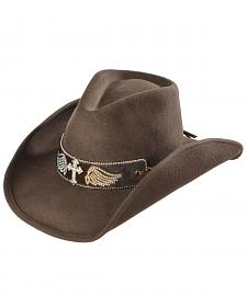 Bullhide Hats Women's State of Grace Felt Cowgirl Hat