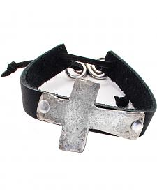 Julio Designs Tecate Basic Cross Bracelet