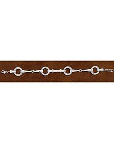 Kelly Herd Sterling Silver Snaffle Bit Bracelet