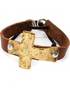 Julio Designs Tecate Leather Bracelet