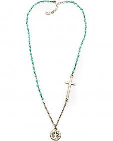 Julio Designs Agnes Cross Necklace