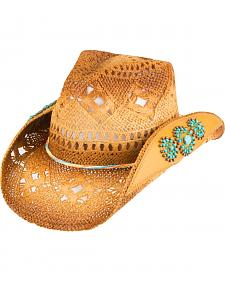 Peter Grimm Women's Chogan Beaded Cowgirl Hat