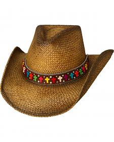 Bullhide Women's Real Life Straw Western Hat