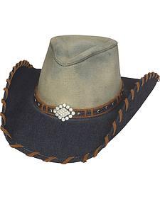 Bullhide Women's House Party Denim Western Hat