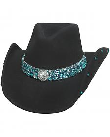 Bullhide Women's Dancin' Crazy Wool Felt Cowboy Hat