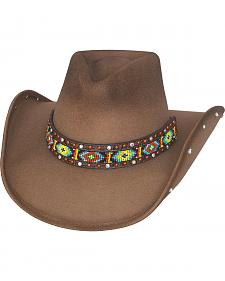 Bullhide Hats Women's Bad Axe River Wool Felt Cowboy Hat