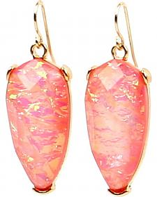Ethel & Myrtle Best of Show Opal Crystal Teardrop Earrings