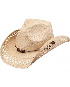 Peter Grimm Maxine Natural Straw Cowgirl Hat