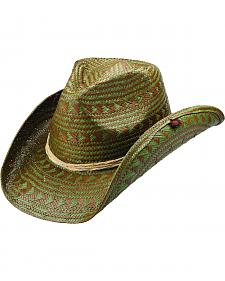 Peter Grimm Argent Olive Aztec Cowgirl Hat