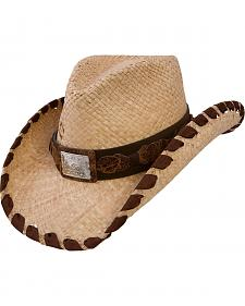 Charlie 1 Horse Restless Girl Straw Cowgirl Hat