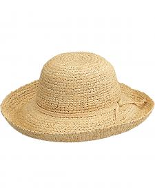 Peter Grimm Chamomile Natural Raffia Straw Sun Hat
