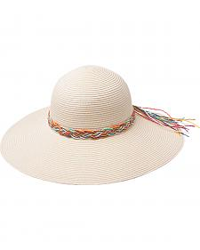 "Peter Grimm Marsha 4 1/2"" Braided Sun Hat"