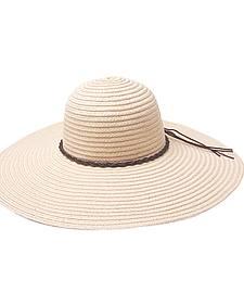 "Peter Grimm Robin 5"" Braided Sun Hat"