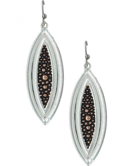 Montana Silversmiths Women's River Pebbles at Sunset Earrings